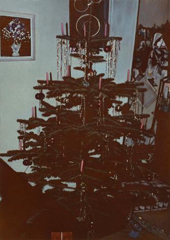 Weihnachtsbaum | 2016 | Öl auf MDF | 22 x 15 cm